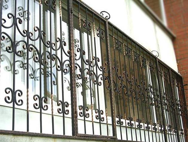 Демонтаж решеток на окнах расценка