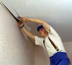 Натяжной потолок демонтаж своими руками